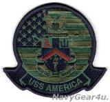 LHA-6 アメリカ部隊パッチ(ジャケット/フライトスーツ用サブデュード/ベルクロ有無)