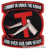 VAW-115 LIBERTY BELLS CUMMIN' IN UNDER THE RADARパッチ