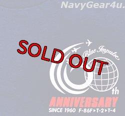 画像4: 第11飛行隊ブルーインパルス部隊60周年記念限定ツアー2020T-シャツ(ネイビー)