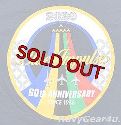 画像2: 第11飛行隊ブルーインパルス部隊60周年記念限定ツアー2020T-シャツ(ネイビー)