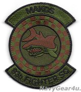 482FW/93FS MAKOS部隊パッチ(OCP/ベルクロ付き)