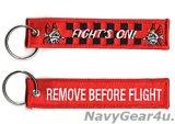 VMFA-312 CHECKERBOARDS REMOVE BEFORE FLIGHTキーリング