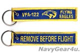 VFA-122 FLYING EAGLES REMOVE BEFORE FLIGHTキーリング