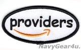 "VRC-30 DET-5 PROVIDERS ""providers""ショルダーマスコットパッチ(ベルクロ有無)"