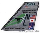 VAQ-135 BLACK RAVENS INDO-PACOM遠征展開 2020-2021記念パッチ
