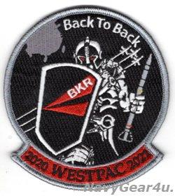 画像1: VFA-154 BLACK KNIGHTS2020-2021ウエストパック連続展開記念パッチ(ベルクロ有無)