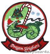HSC-11 DRAGON SLAYERS HOLIDAY部隊パッチ