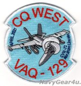 VAQ-129 VIKINGS CVN-72 2021年CQ DET記念パッチ