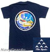 第11飛行隊ブルーインパルス 2021ツアー記念限定T-シャツ(ネイビー)