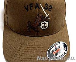 画像2: VFA-32 SWORDSMENオフィシャルボールキャップ(コヨーテ/FLEX FIT)