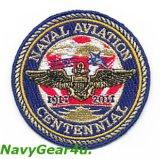 米海軍航空100周年NAVAL AVIATION CENTENNIAL記念パッチ(CVW-5バージョン/ベルクロ有無)