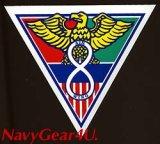 第8空母航空団CVW-8(AJ)ステッカー