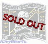 VFA-103 JOLLY ROGERS米海軍航空100周年記念パッチ