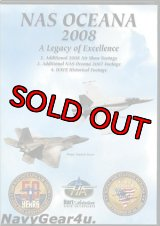 "NAS OCEANA 2008 AIRSHOW ""A Legacy of Excellence""エアショーDVD"