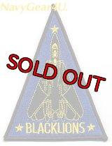 VF-213 BLACK LIONSショルダートライアングルパッチ