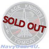 VF-154 BLACK KNIGHTSショルダーマスコットパッチ