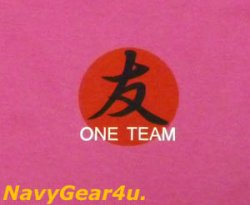 """画像4: 東北応援""""We Support TOHOKU""""ONE TEAM T-シャツ(ピンク)"""