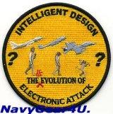 "VAQ-138 YELLOW JACKETS ""電子攻撃の進化?"" ジョークパッチ"