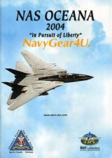 "NAS OCEANA 2004 AIRSHOW ""In Pursuit of Liberty""エアショーDVD"